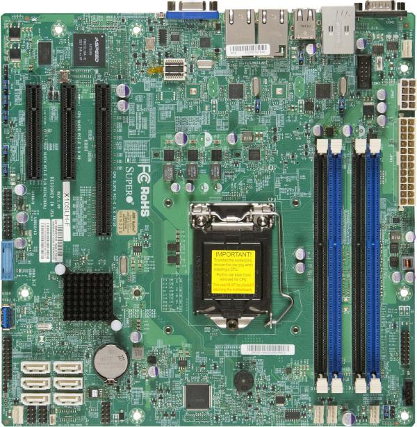 Supermicro Motherboard Xeon Boards X10SLH-F